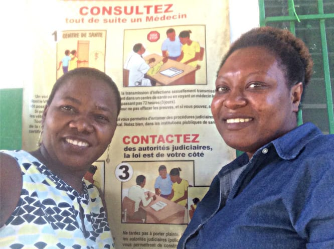 GBV Project coordonator and assistant social worker
