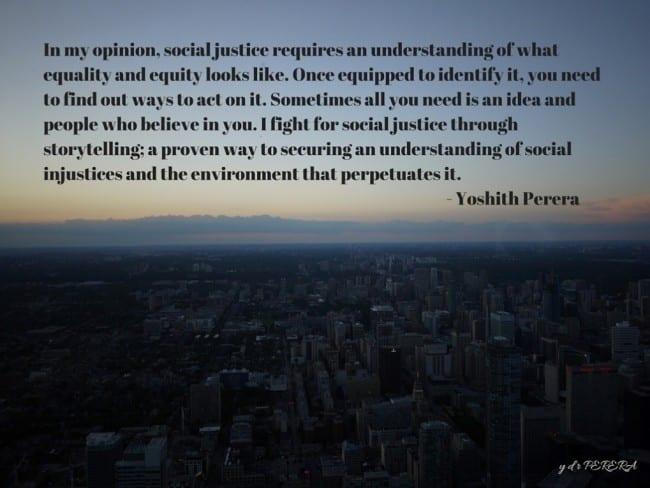 Social Justice Storytelling