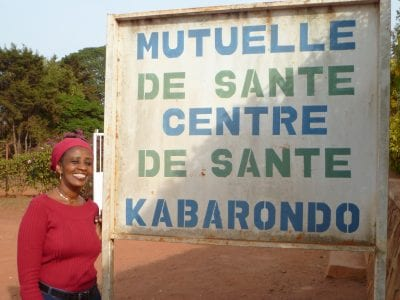 Sylvie Umubyeyi, a Social Worker at Kabarondo Health Center in South Kayonza, Rwanda