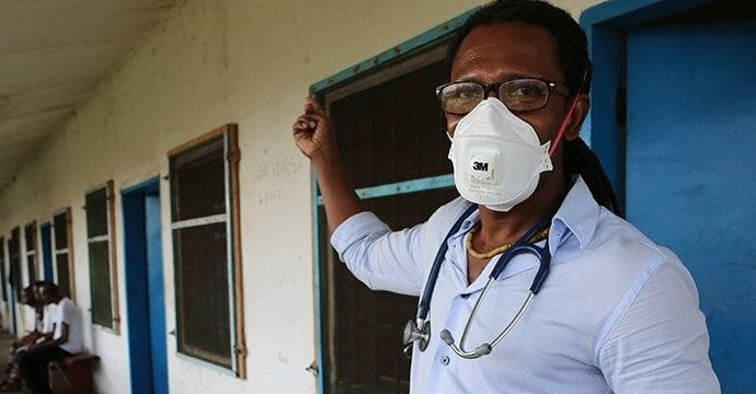 Fighting Tuberculosis and Rebuilding Liberia's Healthcare System with Dr. Maxo Luma
