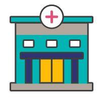 Graphic of a health centre