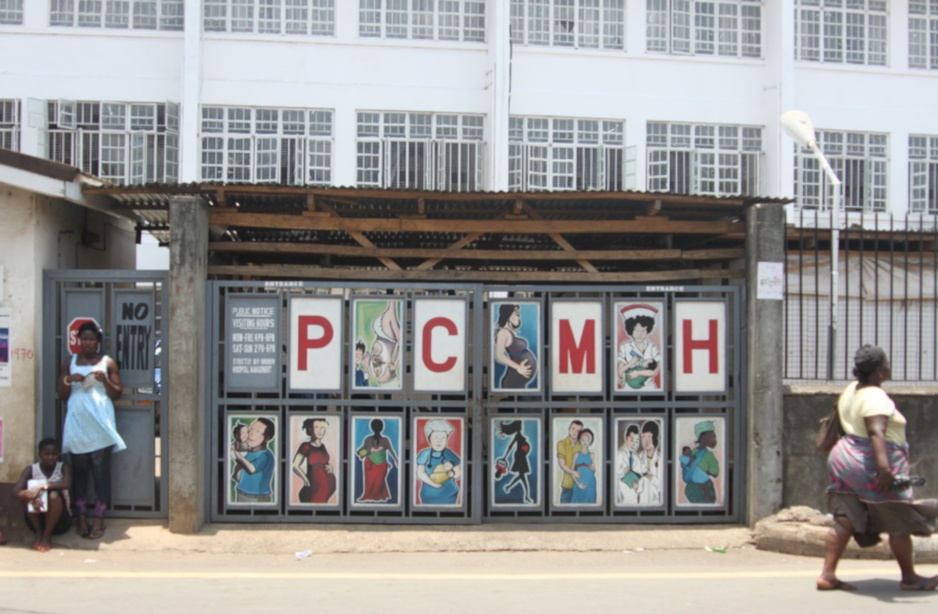 Princess Christian Maternity Hospital in Freetown, Sierra Leone