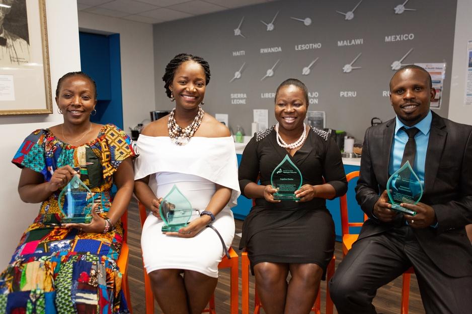 First graduates of PIH's Nightingale Nursing Fellowship program