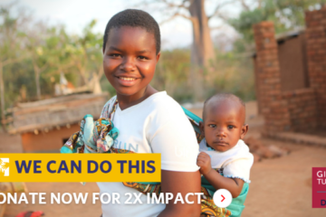 We Can Do This. Giving Tuesday Match. Donate now for 2X impact.