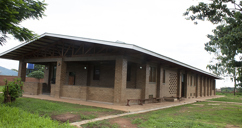 Outdoor view of the new integrated care clinic
