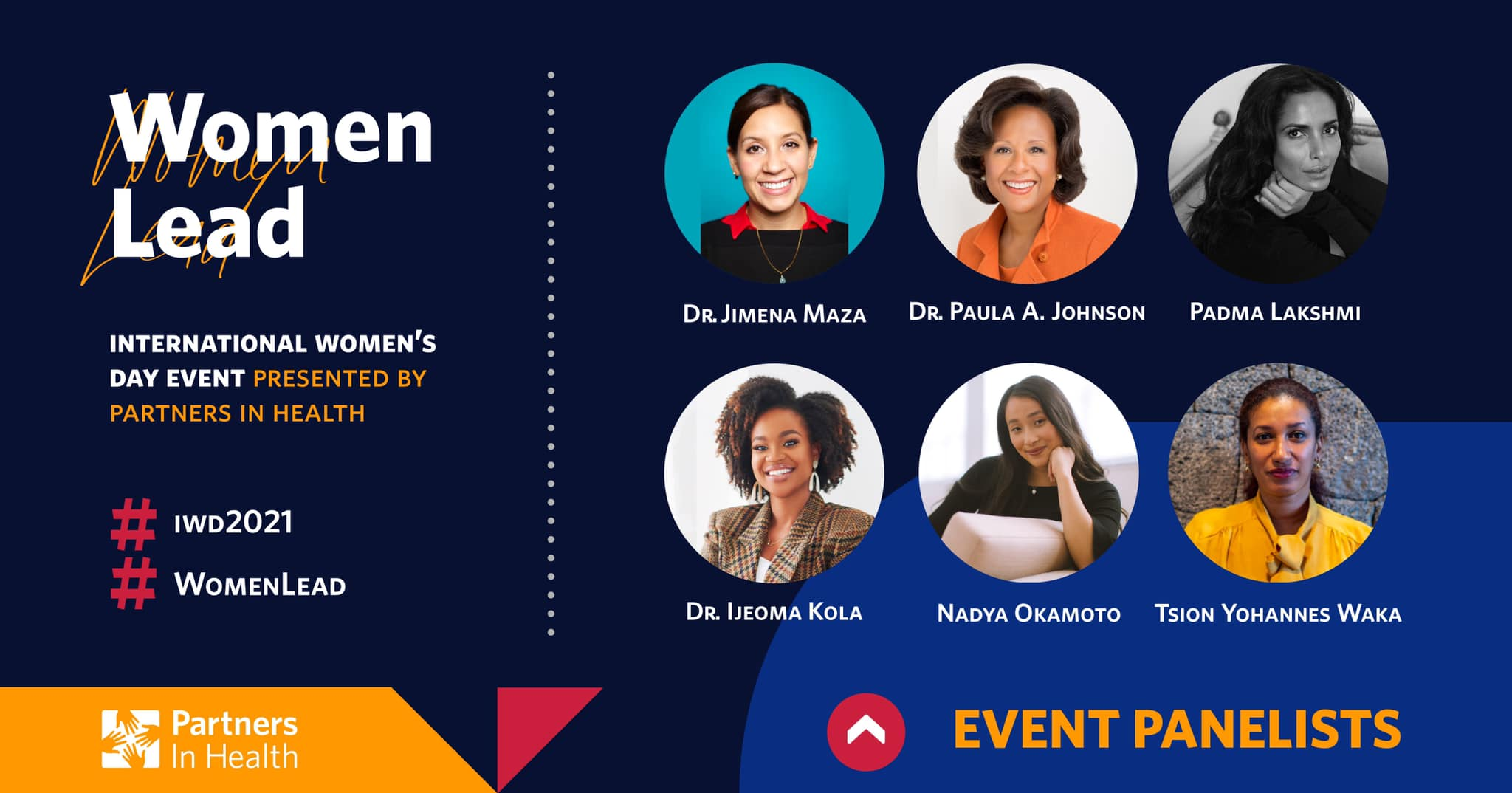 Women Lead - International Women's Day Event Presented By Partners In Health